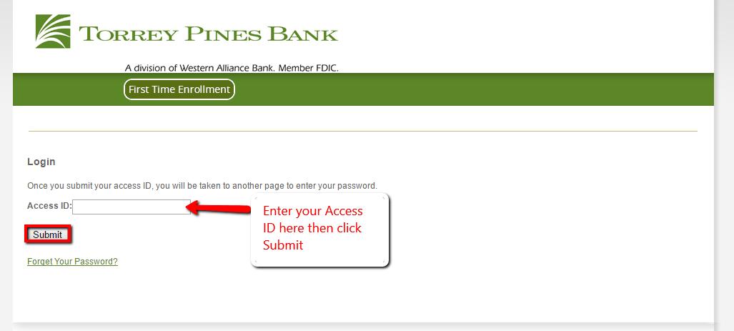 Torrey Pines Bank Online Banking Login