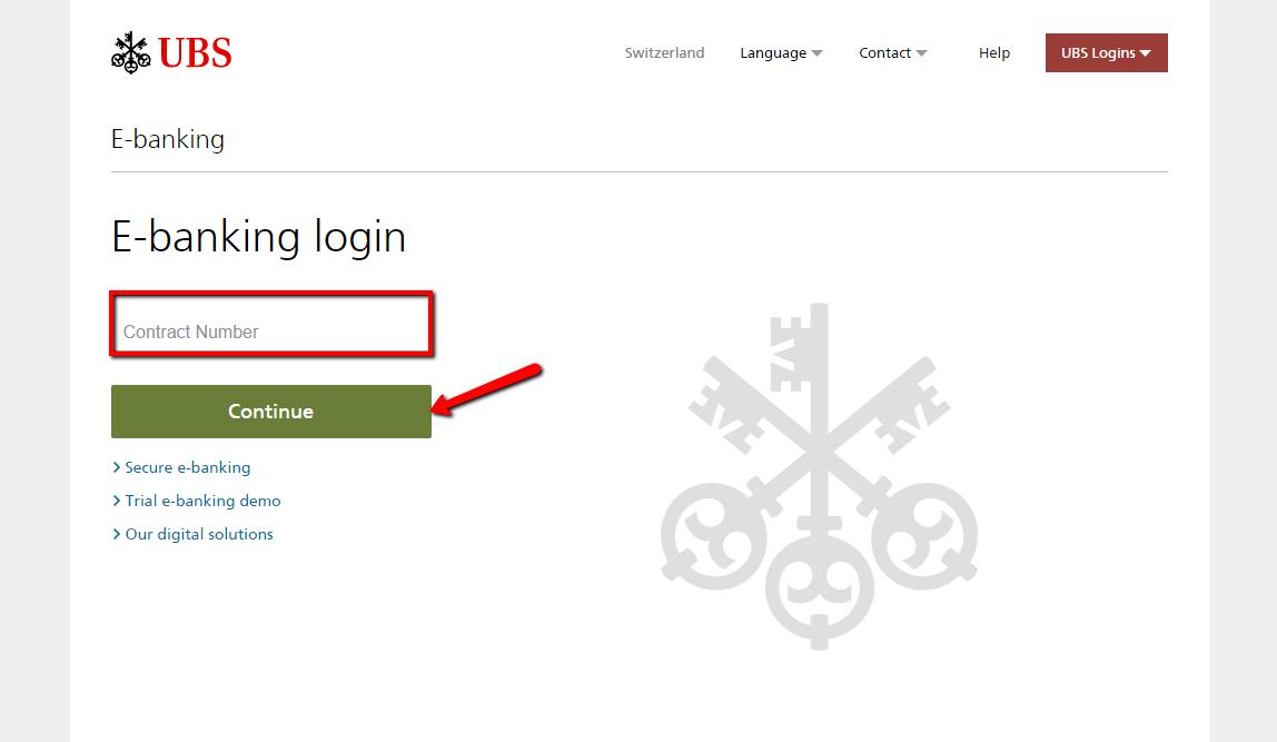 Ubs Bank Online Banking Login Cc