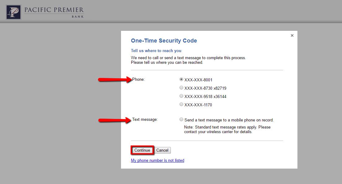 pacific premier bank online account login