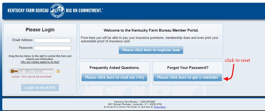 my.KYFB password
