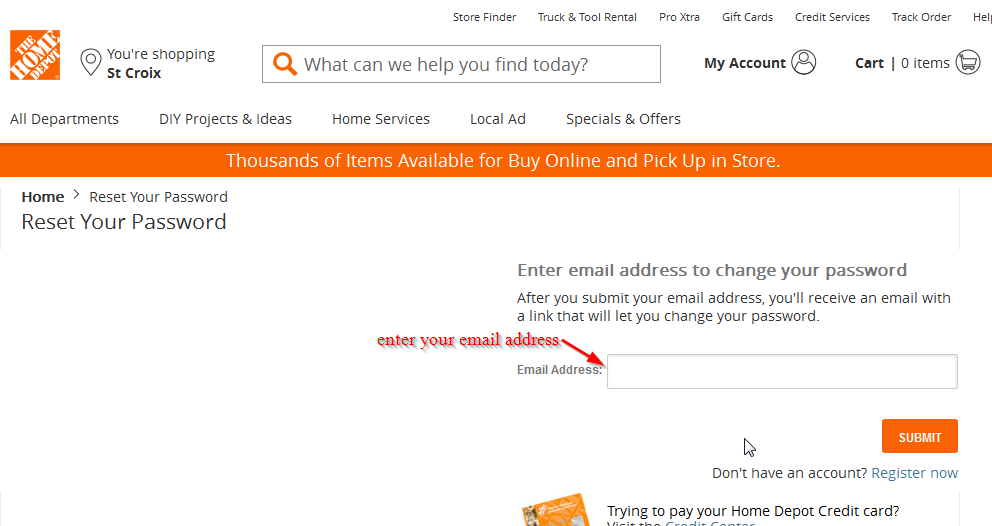 Home Depot Credit Card Online Login - CC Bank