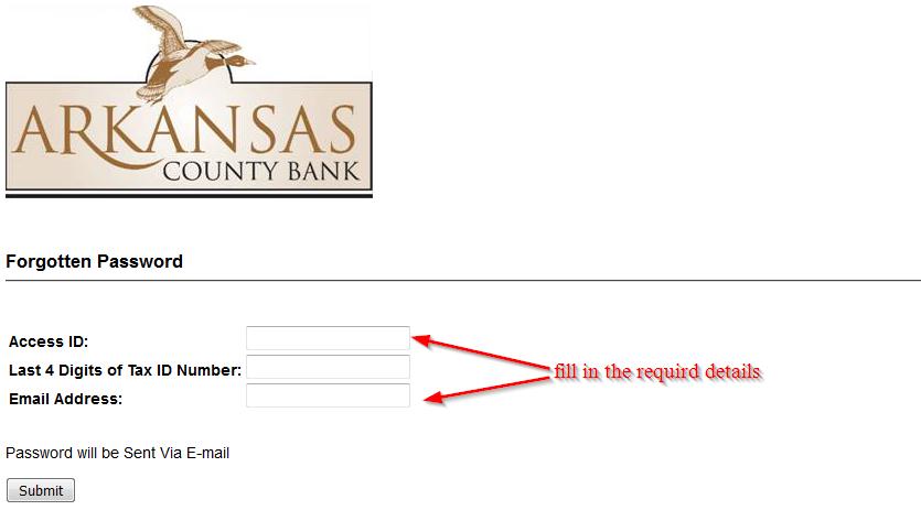 Arkansas County Bank
