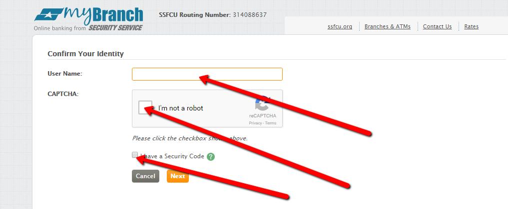 Ssfcu Com Login >> Security Service Federal Credit Union Online Banking Login - CC Bank