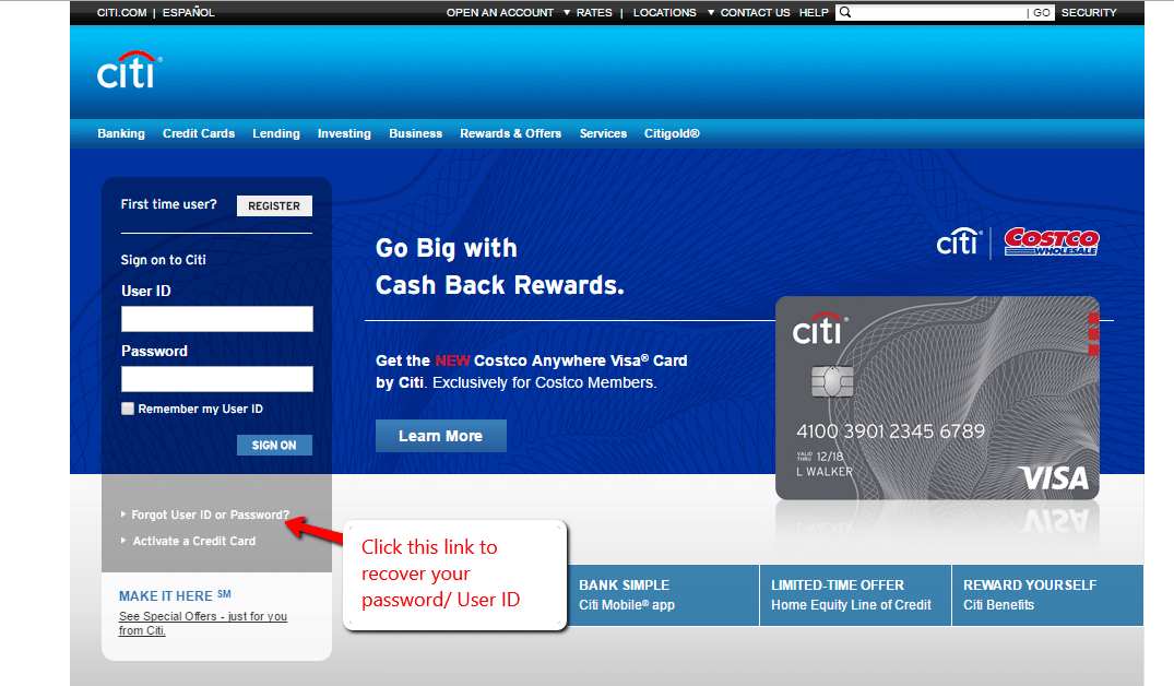 Citi Bank Online Banking Login - 🌎 CC Bank