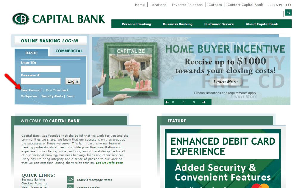 Capital Bank Online Banking Login - 🌎 CC Bank