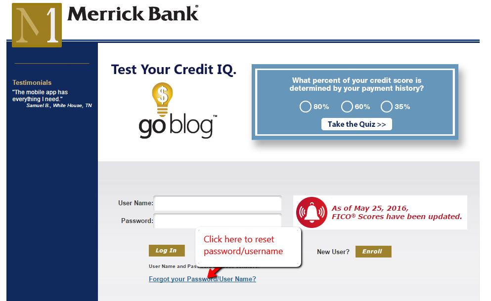 Merrick bankowe opinii cc