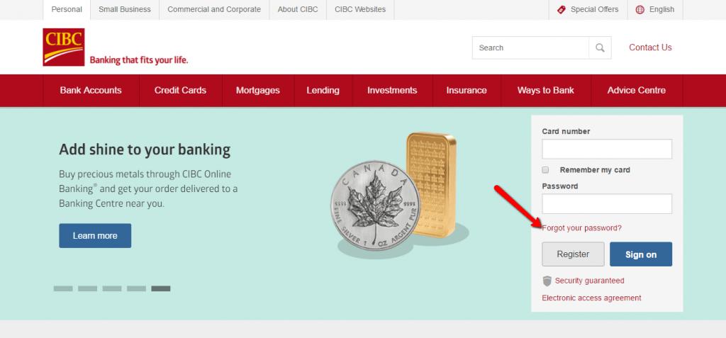 Cibc 401k online login credit