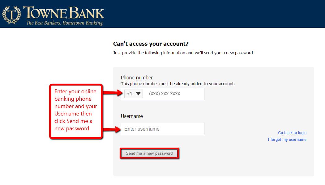 TowneBank Online Banking Login
