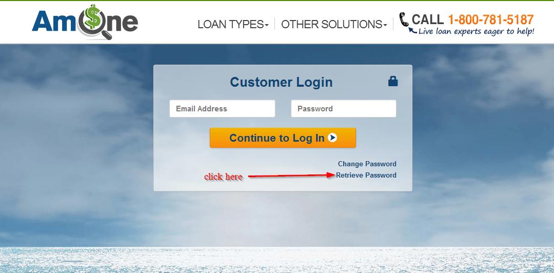 reset your AmOne password here