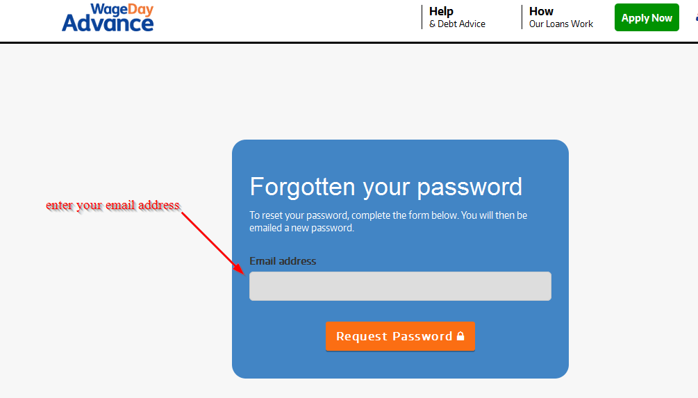 reset your password 2