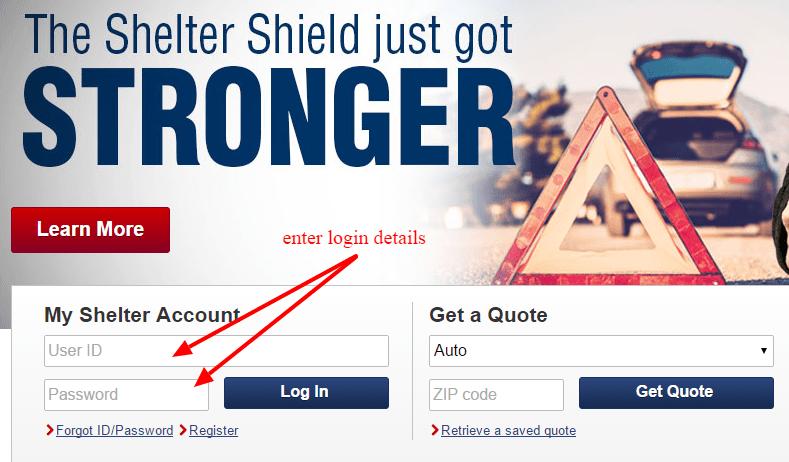 shelter insurance-login