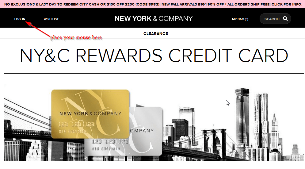 New York And Company Credit Card Payment >> New York And Company Credit Card Online Login Cc Bank