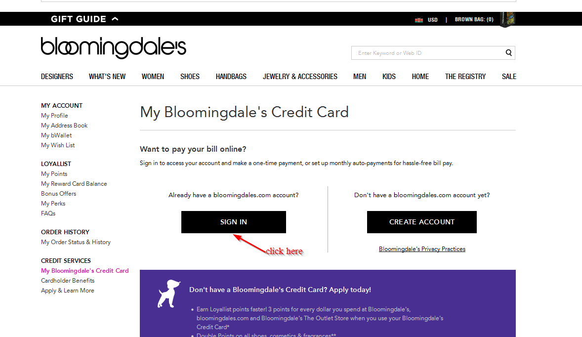 To add your Bloomingdale's Credit Card or your Bloomingdale's American Express® Card to your vetmed.ml profile, you will need your account number, the physical card .