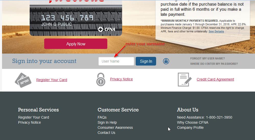 Firestone Credit Card Online Login Cc Bank