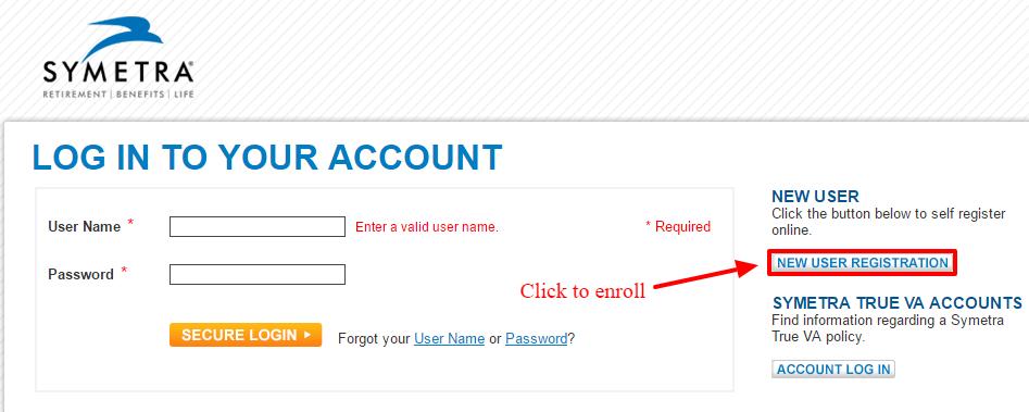 symetra online registration