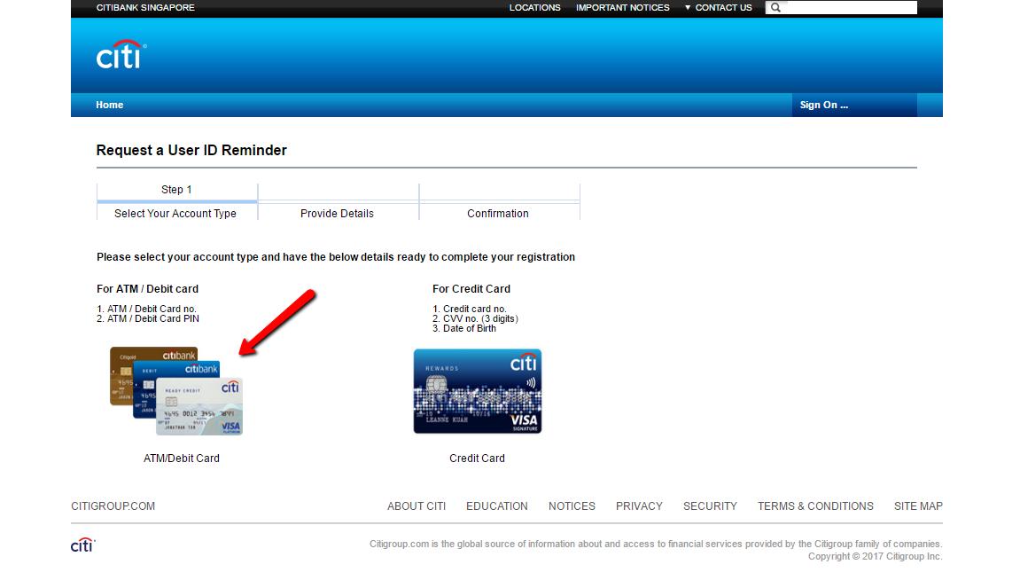 Citibank Singapore Online Banking Login - 🌎 CC Bank