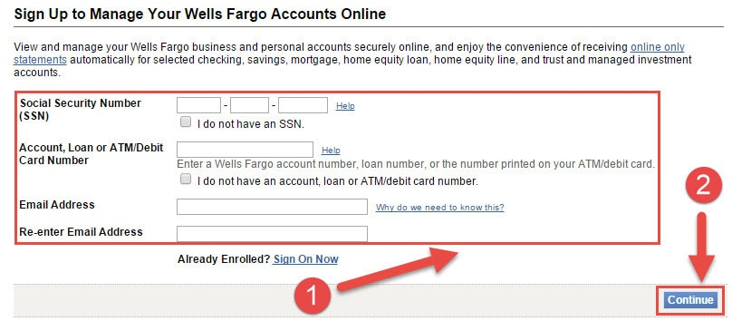 how to know your bank account number wells fargo